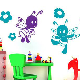 Детские трафареты для оформления стен в детском саду своими руками